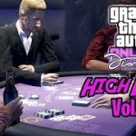 GTA 5 Online 3 Card Poker High Limit Vol. 5 | I Get To $10 Million Chips