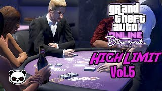 GTA 5 Online 3 Card Poker High Limit Vol. 5 | I Get To $10 Million Chips