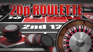 20p Roulette – BIG FOBT Gambling in William Hill