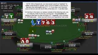 Texas Holdem Preflop to River Equity Swings Example Hands, Poker Math Made Easy, EPK 015