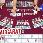 $20,000 LIMIT LIVE BACCARAT BATTLE | Casino Baccarat Let's Play #1
