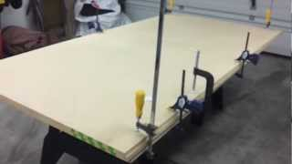 DIY Craps Table Video 1