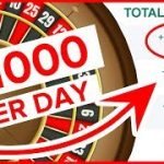 Roulette Strategy 2019 – Roulette System To Win ( How To Make $1000 A Day Online )