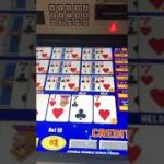 $2500 Four 7's Video Poker Jackpot