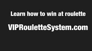 How To Play Roulette. Free Roulette Strategy to Win at Roulette