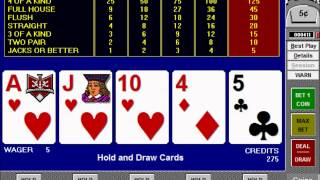 How to Play and Win at Jacks or Better Video Poker Tutorial – Part 1