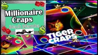 💲 Millionaire Craps Snake Pit – 🐍BLACK MAMBA $1000 Profit Betting Strategy