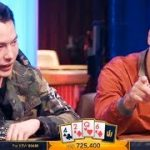 Two BILLIONAIRES Play A $725,400 Game Of Poker