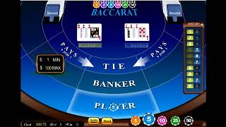 Easy Winning Baccarat Strategy  100% Work 2019