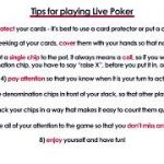 Live Poker Tips + Differences between Live and Online Poker