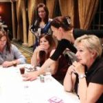 LI businesswomen learn poker