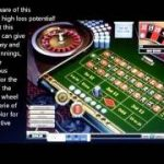 Roulette strategy with bets doubling on red or black, also known as the Martingale strategy.