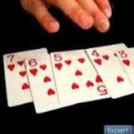 Free Magic Card Tricks: Full Deck Arrangements : Explanation of the Poker Magic Card Trick