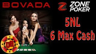 Bovada Poker – 5NL Zone Poker EP 3 – Texas Holdem Poker Strategy – Cash Game