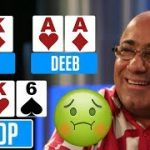 The SICKEST feeling in poker! Aces CRACKED compilation