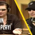 HILARIOUS Hellmuth hands and arguments Monte Carlo 2005 Poker
