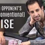 What to Do When Facing an Unconventional Raise? (poker strategy)