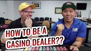 How to Be a CASINO DEALER!! | CEG Dealer School Las Vegas Chat Ep.1