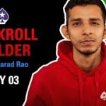 10k to 100k Bankroll Builder Challenge with Sharad Rao | Day 3 | PokerStars India