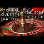 100% WORKING!!  The BEST Roulette System With Very Low Budget (2019 ) Part 22