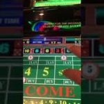 Live demonstration of the grinder method playing electronic casino craps
