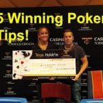 ♠5 Important Poker Tips to Learn!♦