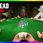 Red Dead Online – The Best NEW Way To Make Money: POKER! How To Win Easy, Payouts & MORE! (RDR2 DLC)