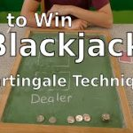 How to Win Blackjack (Martingale Technique)
