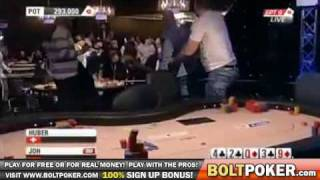 European Poker Tour Robbery Caught Live! EPT Robbed Blind – WOW.