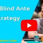 Big Blind Ante Strategy