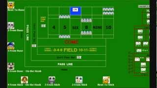 HD Craps Lesson 13 – Bet Setup and Payout Procedures