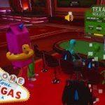 Teaching Speedy How To Play Texas Holdem! Tower Unite Casino Poker Fun!