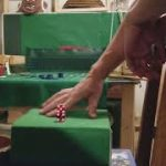Craps strategy ***sidewinder throw*** Dice control/ Dice Influence.