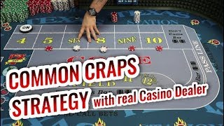 Most Common CRAPS STRATEGY   Craps Lesson with Jason