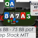 Yet another BB vs BTN in a 3-bet pot – Good bluff on the River? – Poker Hand Reviews #5