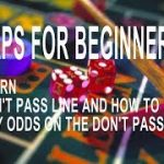 Tutorial How to play Craps for Beginners Learn the (Don't Pass Line and Take Odds on Don't Pass) 3