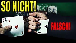 Betrügen beim POKER lernen (und andere Kartenspiele) – Kartentricks für Anfänger