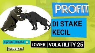 Cara Profit Stake Kecil – Higher lower Index Volatility 25