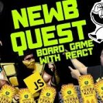 Newb Quest – Build a board game with React – Front-end-opoly