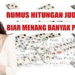 RUMUS HITUNGAN JUDI CEME ONLINE, BIAR MENANG BANYAK PERHARI