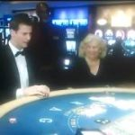 Tosh plays blackjack.