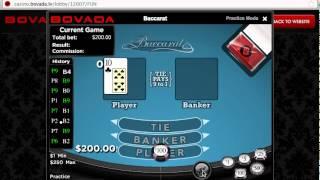 Online Baccarat at Bovada Casino – GamblingNerd.com