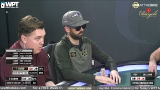 WPT Legends of Poker Main Event Final Table – Live at the Bike!