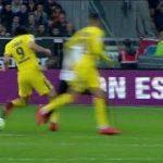Edinson Cavani roulette skill vs Angers HD