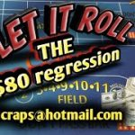 Craps Betting Strategy – The $80 Regression WIN MONEY ON FIRST THREE ROLLS!