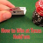 Basic Strategy for Texas Hold'em Poker