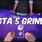 GTA 5 GRIND || BLACKJACK HIGH ROLLER