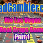 Real Craps Game at Rio Hotel and Casino, Las Vegas, Part 1