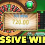 HUGE WIN AT ROULETTE!!! WIN ON EVERY SPIN! THE GREATEST ROULETTE SYSTEM EVER MADE!!!