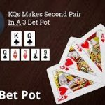 Poker Strategy: KQs Makes Second Pair In A 3 Bet Pot
